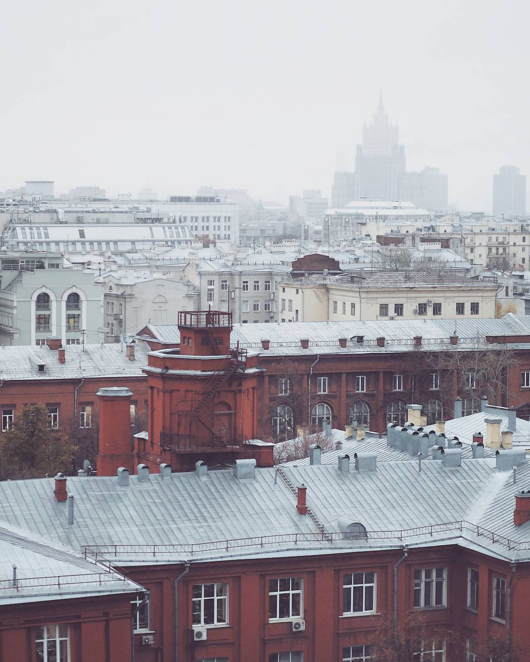 Its Moscow its snow  and Im slowly getting kindhellip